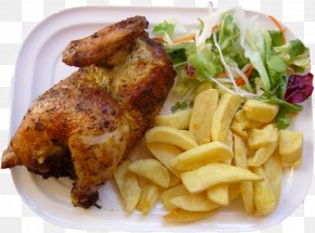 Chicken - Pollo A La Brasa Peruvian Cuisine French Fries Salchipapas Roast Chicken PNG