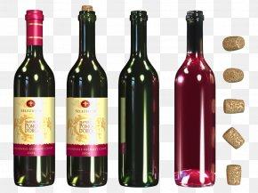 Bottle 8 - Wine Bottle Clip Art PNG