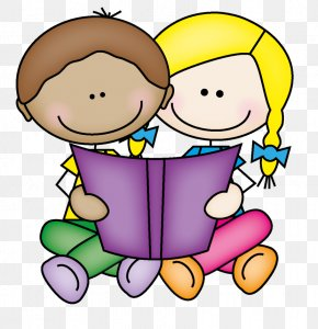 Couple Sharing Cliparts - Reading Free Content Child Clip Art PNG