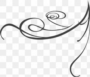Swirly Images - Grey Clip Art PNG