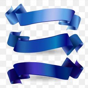 Blue Ribbon Vector Download - Awareness Ribbon Blue Ribbon Web Banner PNG