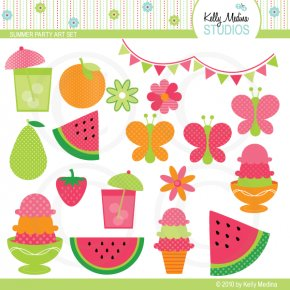 Summer Party Cliparts - Summer Party Clip Art PNG