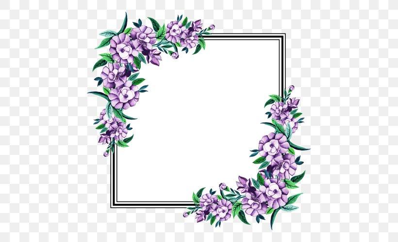 Floral Wedding Invitation Background Png 500x500px Floral Design Color Flower Invitation Lilac Download Free
