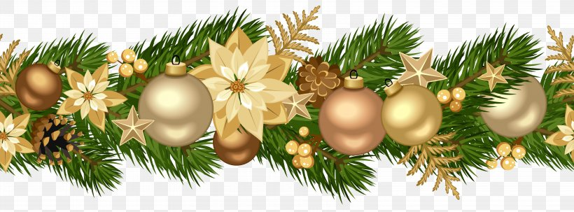 Christmas Ornament Garland Christmas Decoration Tinsel, PNG, 6193x2290px, Christmas, Branch, Christmas Card, Christmas Decoration, Christmas Lights Download Free