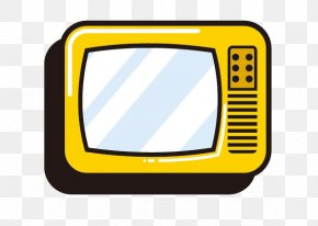 Stick Figure TV Free Download Free Buckle Elements - Television Download Icon PNG