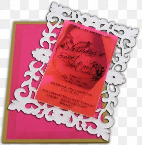 Hindu Wedding Cards - Wedding Invitation Picture Frames Greeting & Note Cards PNG