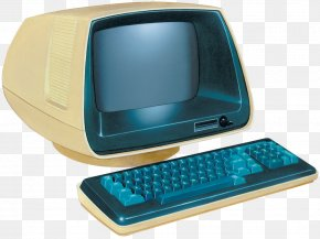 Retro Computer - IBM Personal Computer Laptop Nintendo Entertainment System PNG
