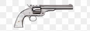 Cartoon Revolver - Revolver Trigger Firearm Smith & Wesson Ruger Vaquero PNG