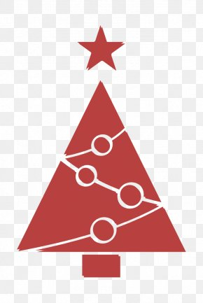 Christmas Eve Conifer - Christmas Icon Decoration Icon Star Icon PNG