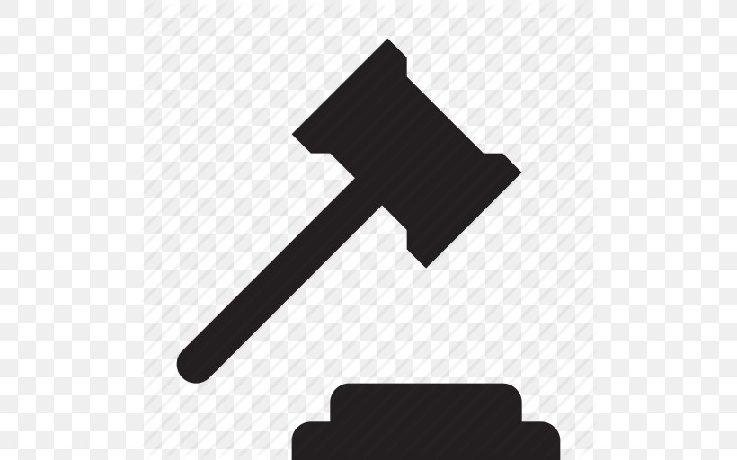 Judge Gavel Lawyer Court, PNG, 512x512px, Judge, Advocate, Black, Black And White, Court Download Free