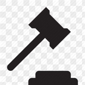 Icon Size Gavel - Judge Gavel Lawyer Court PNG