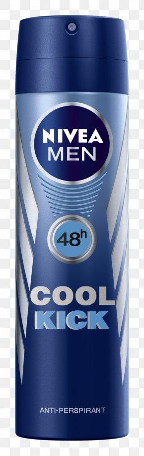 Cool Guy - NIVEA Men Deo Vapo 200 Ml MEN Cool Kick Deodorant Spray 200 Ml Product Design PNG