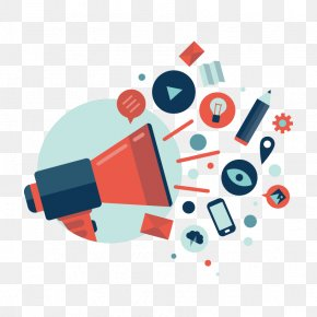 Flat Decoration - Public Relations Marketing Media Relations Management PNG