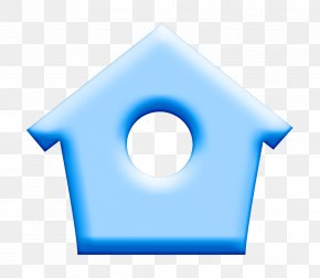 Symbol Blue - Building Icon Home Icon House Icon PNG
