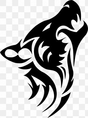 Tattoo Wolf Image - Dog Tattoo Tribe Arctic Wolf Clip Art PNG