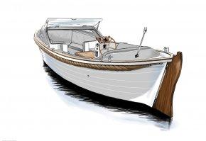 Boat - Drawing Boat Ship Yacht PNG