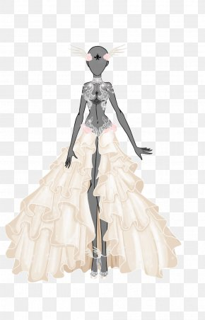 Feel The Wind - Costume Design Gown PNG