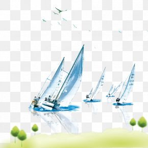 Sailboat Material Download - Image Resolution PNG