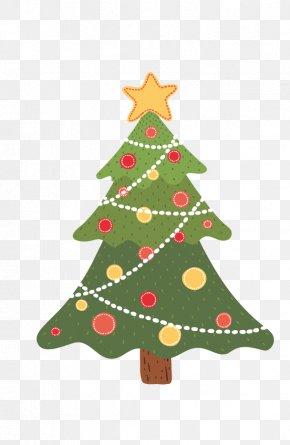 Cartoon Christmas Tree - Santa Claus Drawing Trees Christmas Tree PNG