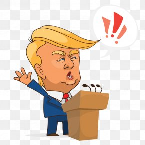 Trump Cartoons Images - Clip Art United States Of America Royalty-free Vector Graphics Image PNG