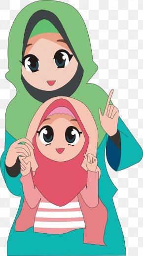 Moslem - Woman CorelDRAW 24 May Clip Art PNG