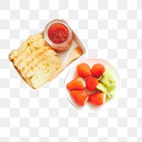 Strawberry Cucumber Toast - Toast Full Breakfast Jam Sandwich Strawberry PNG