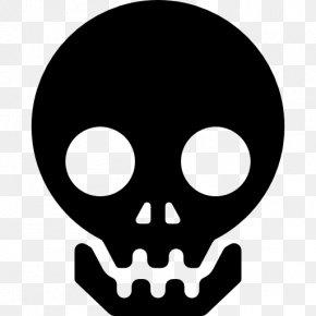 Skull - Skull Bone Cursor PNG