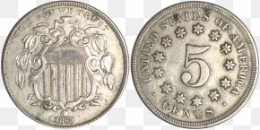United States - Confederate States Of America United States Dime Coin Half Dollar PNG