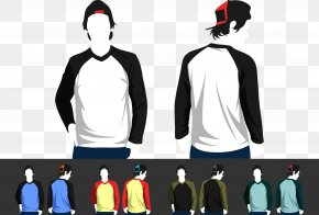 Creative Model Clothes - Long-sleeved T-shirt Raglan Sleeve Clothing PNG