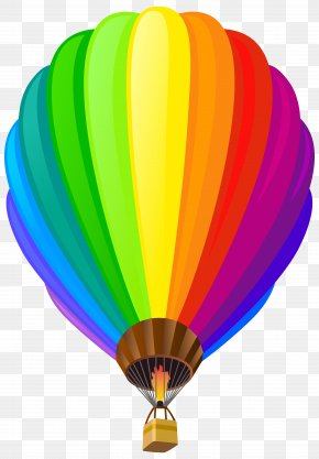 Hot Air Balloon Transparent Clip Art Image - Albuquerque International Balloon Fiesta Flight Hot Air Balloon Rainbow PNG