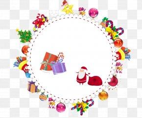 Creative Christmas - Christmas Gift Information Clip Art PNG