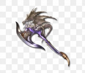 Axe - Granblue Fantasy Axe Weapon Rage Of Bahamut PNG