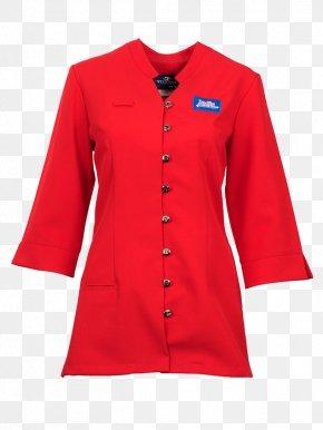 Dress - Hoodie Blouse Red Overcoat Top PNG