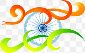Republic Day National Flag - India Independence Day Background Design PNG