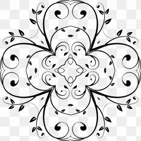 Flower Spreading Prompt Box - Floral Design Flower Vine Clip Art PNG