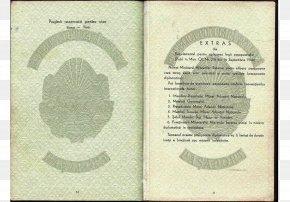 Passport - Israeli Passport Korean War North Korea Cold War PNG