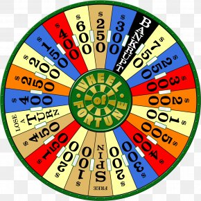 Barren Poster - Wheel Of Fortune 2 Spin Wheel Fortune Game Show Video Games Wheel Of Fortune: Free Play PNG