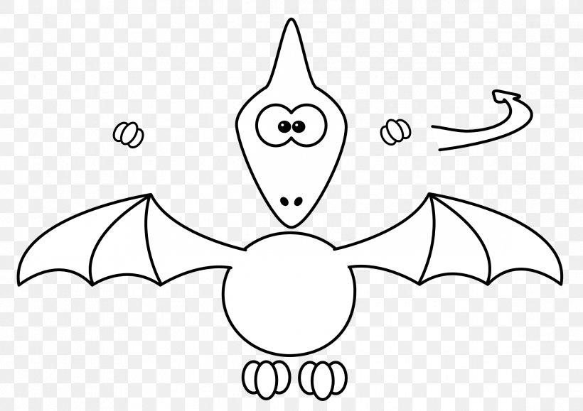 Drawing Dinosaur Coloring Book Ausmalbild Pterodactyl Png