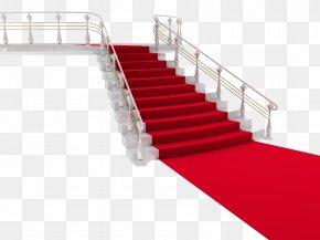 Stairs - Dubai Red Carpet Stairs Wallpaper PNG