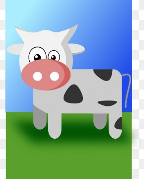 Cow - Cartoon Cattle Animal Clip Art PNG