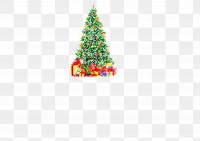 Christmas Tree Vector - Santa Claus Christmas Tree PNG