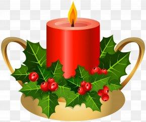 Christmas Candle Clip Art Image - Christmas Advent Candle Advent Candle Clip Art PNG