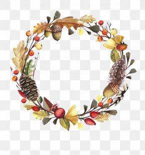 Autumn Wreath - Wreath PNG