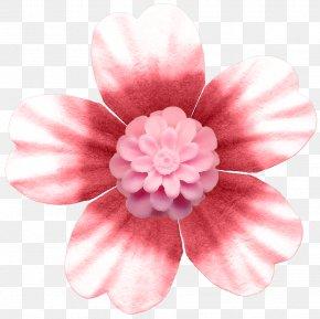 Pink Flower Buttons - Pink Button Flower Rose PNG