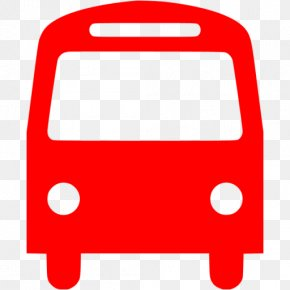 Red Bus Icon - Airport Bus RedBus.in Clip Art PNG