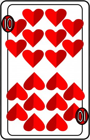 Playing Cards - Area Symmetry Pattern PNG
