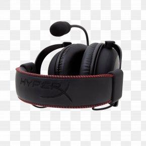 HyperX Gaming Headset - Kingston HyperX Cloud Core Kingston HyperX Cloud II Headset Headphones PNG