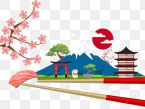 Japan Mount Fuji - Mount Fuji Illustration PNG