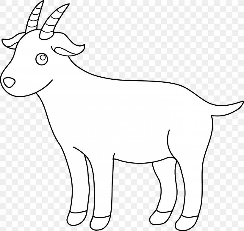 Boer Goat Black Bengal Goat Pygmy Goat Sheep Clip Art, PNG, 5817x5491px, Boer Goat, Animal Figure, Black And White, Black Bengal Goat, Carnivoran Download Free