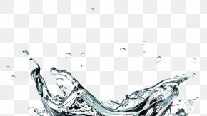Free Instant Water Splashes Pull Material - Drop Water PNG